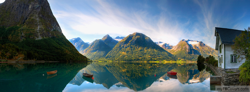 Lake In Valley Facebook Covers Myfbcovers