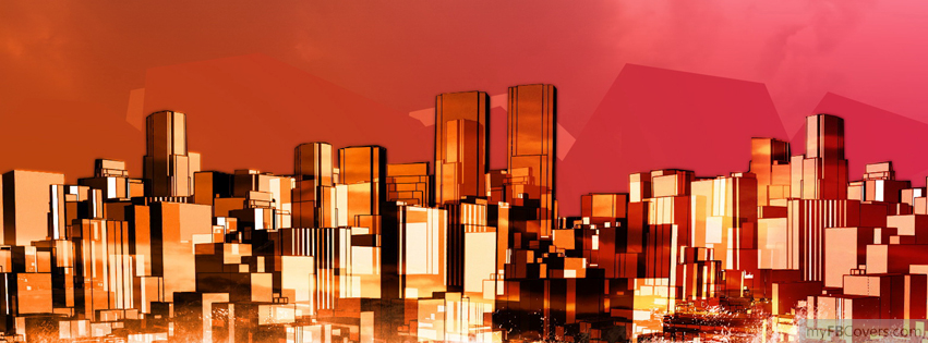 abstract city facebook covers myfbcovers