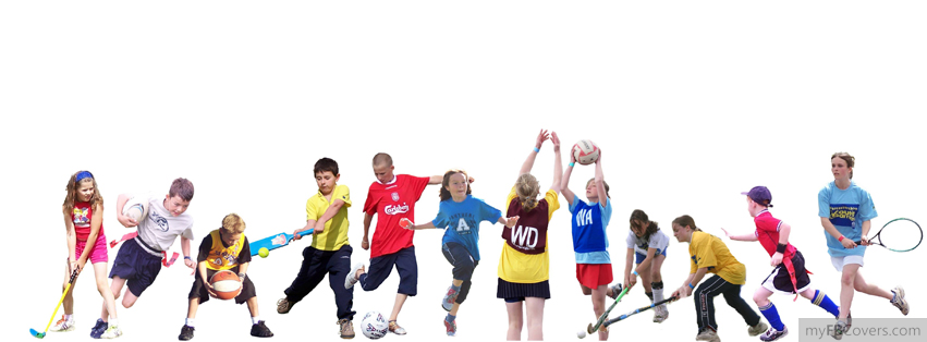 kids Sport Facebook Cover