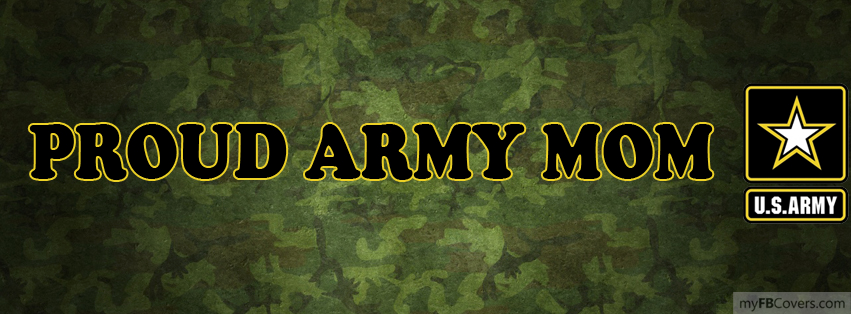 Proud US Army Mom Facebook Covers - myFBCovers