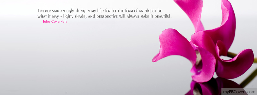Nice Quote Facebook Covers - myFBCovers
