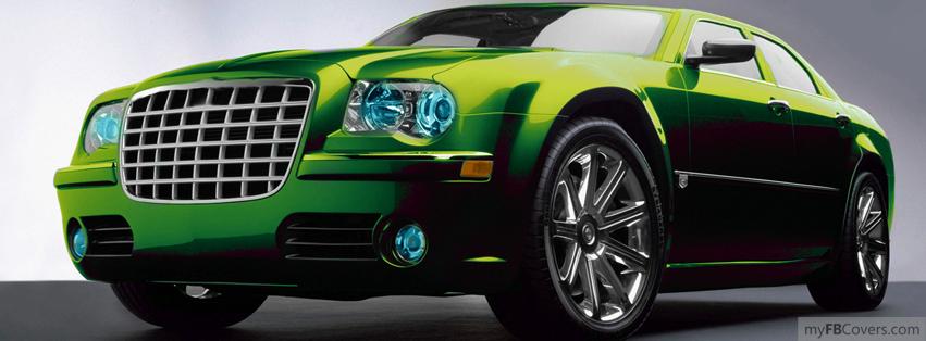 Green Luxury Car