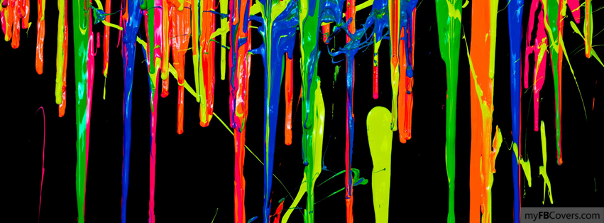 Paint Flow Facebook Covers Myfbcovers
