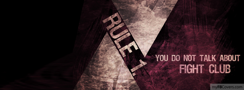 Fight Club Facebook Covers - myFBCovers