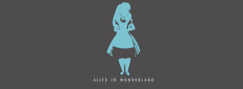 Alice In Wonderland Facebook Cover