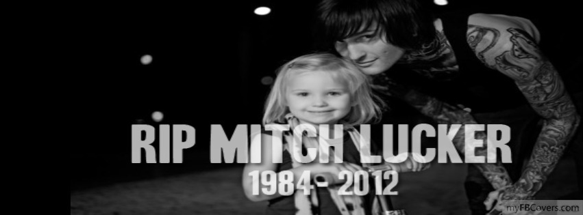 Mitch Lucker Rip Facebook Covers - myFBCovers