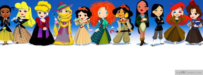 Whovian Disney Princess Facebook Covers - myFBCovers