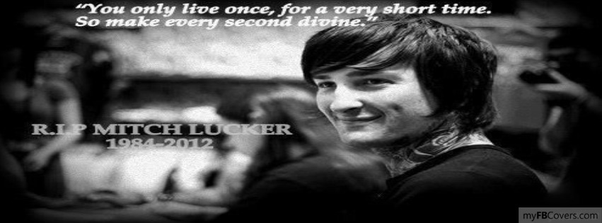 Mitch Lucker Facebook Covers - myFBCovers