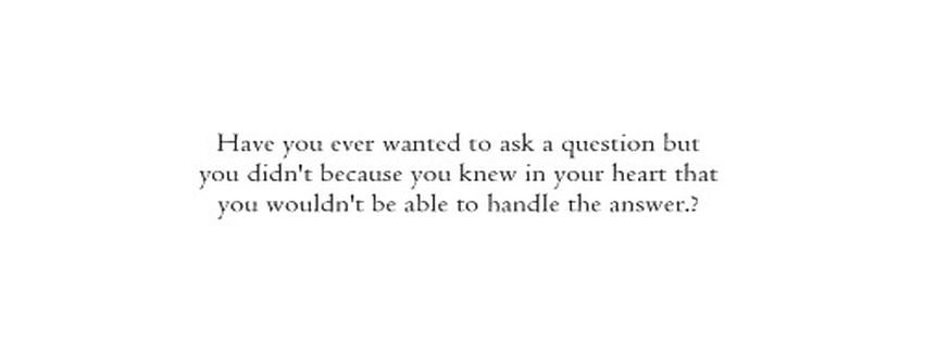 Answer Black And White Handle Heart Heartbreak Facebook ...