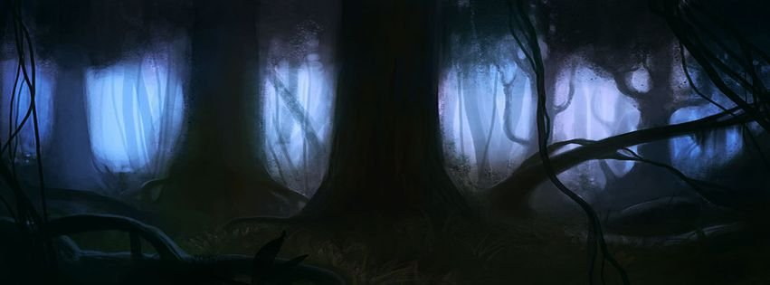 Dark Fantasy Facebook Covers