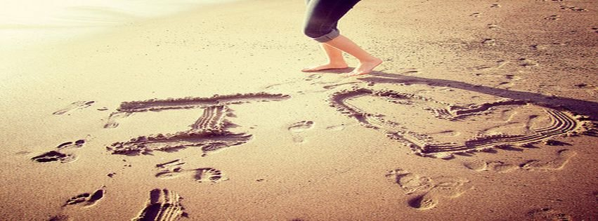 Beach Beautiful Cute Girl Love Sand Facebook Covers