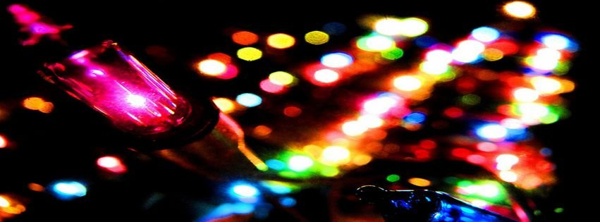 christmas lights facebook covers - photo #42