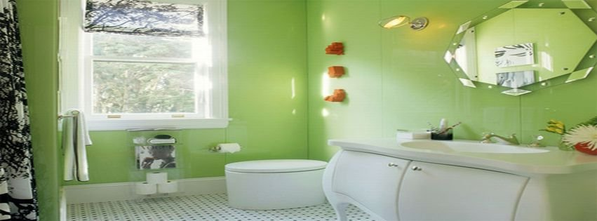Beautiful Bathroom Color Facebook Covers myFBCovers