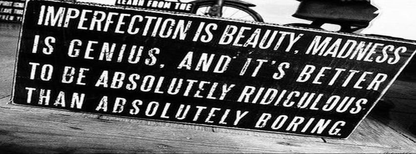 Facebook covers black and white quotes
