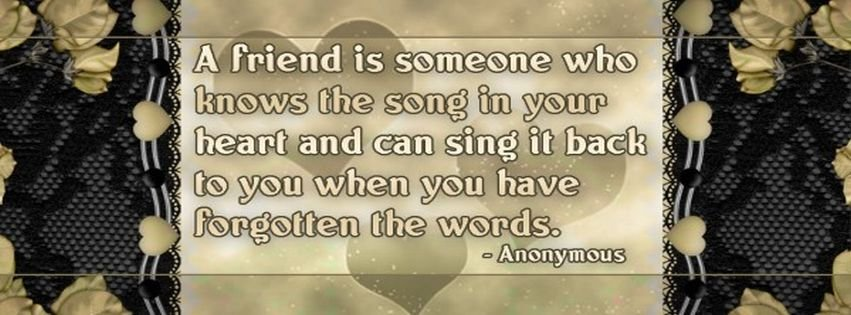 Best Friendship Quotes Facebook Cover Facebook Covers