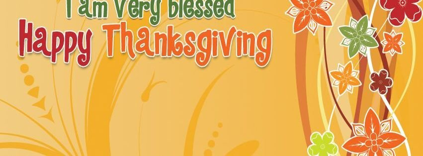 I Am Happy Facebook Covers Blessed Happy Thanksgi...