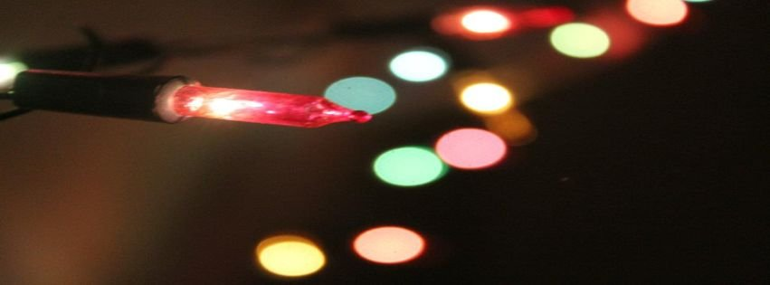 christmas lights facebook covers - photo #37