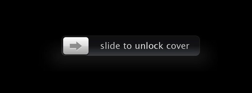 Facebook Cover Slide To Unlock