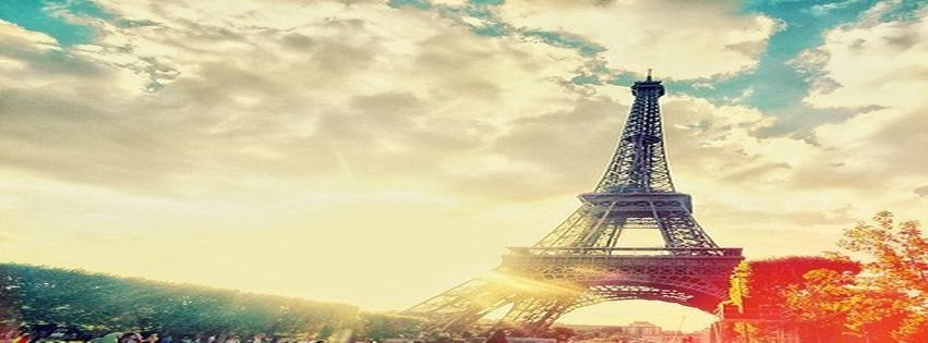 Facebook Covers Beautiful Breathtaking City Of Love Eiffel ...