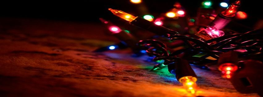 christmas lights facebook covers - photo #16