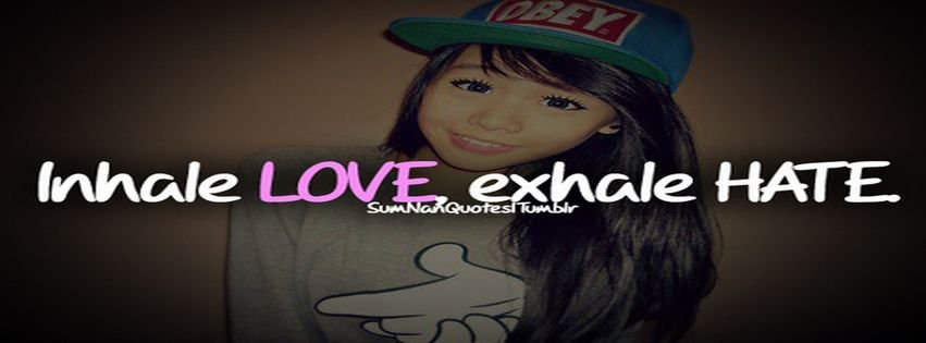 Girl Cute Swag Love Sumnanquotes Facebook Covers