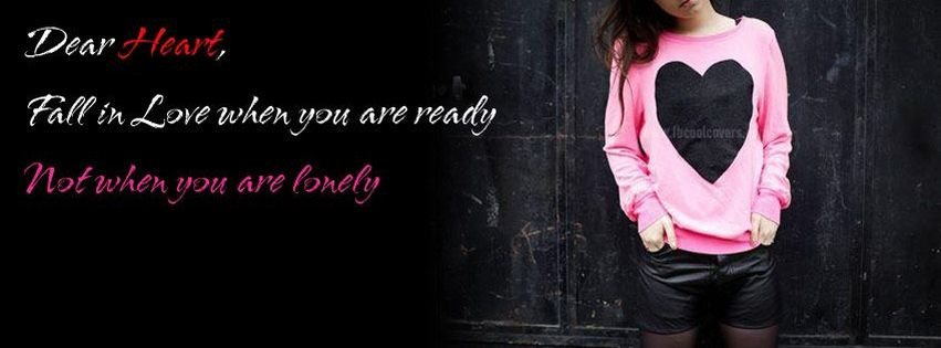 Quality Lonely Girl Quote Facebook Cover For Your TimelineLonely Girl Pics For Facebook