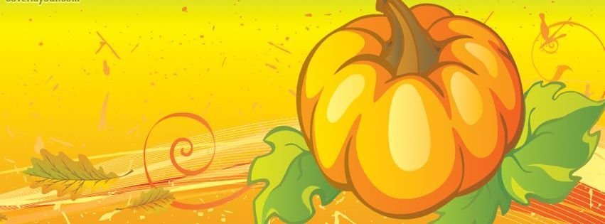 Pumpkin Thanksgiving Fall Facebook Timeline Covers ...
