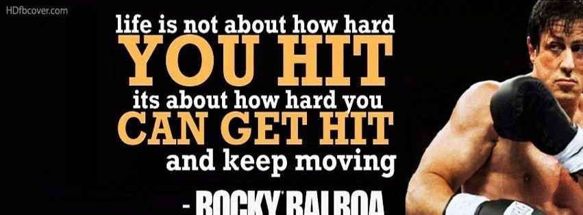 Rocky balboa quotescovers facebook