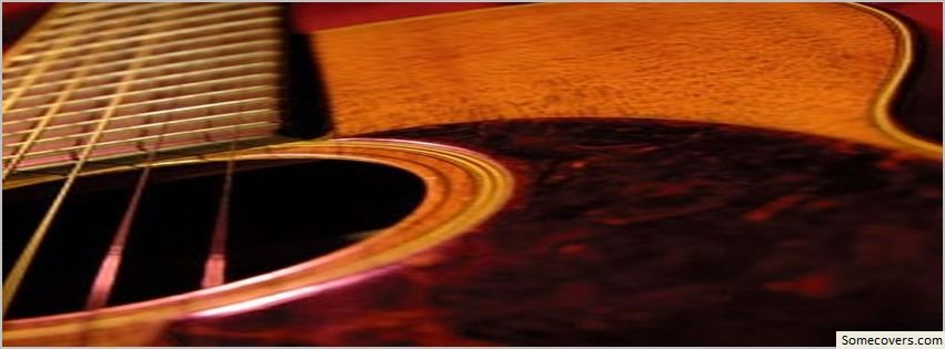 acoustic strings guitar instrumental facebook timeline cover facebook covers myfbcovers. Black Bedroom Furniture Sets. Home Design Ideas