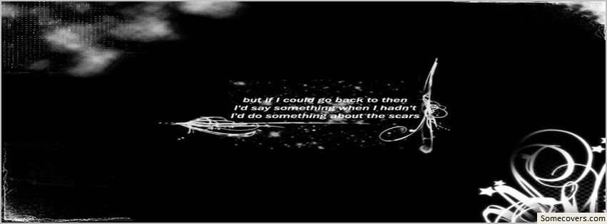 black and white facebook covers quotes Quotes