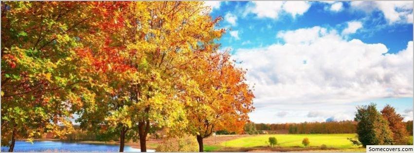 Beautiful Autumn Day Facebook Timeline Cover Facebook