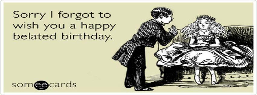 Someecards Birthday Facebook Cover