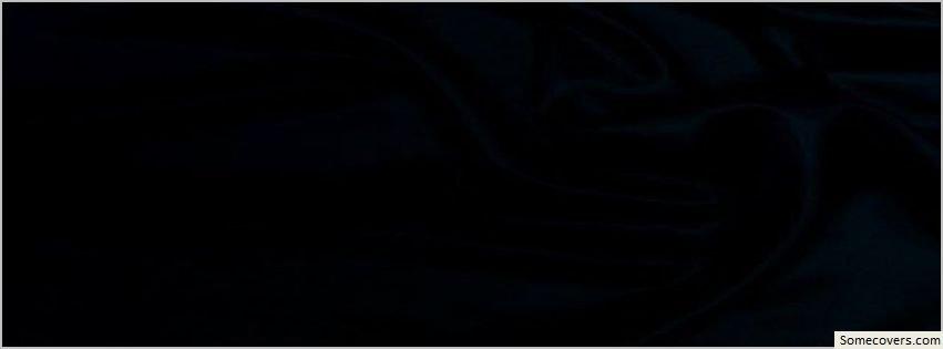 Black Beauty Plain Design Facebook Timeline Cover