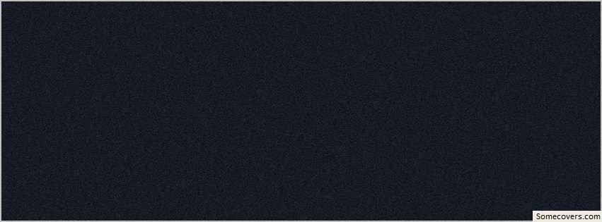 Black White Grains Plain Facebook Timeline Cover