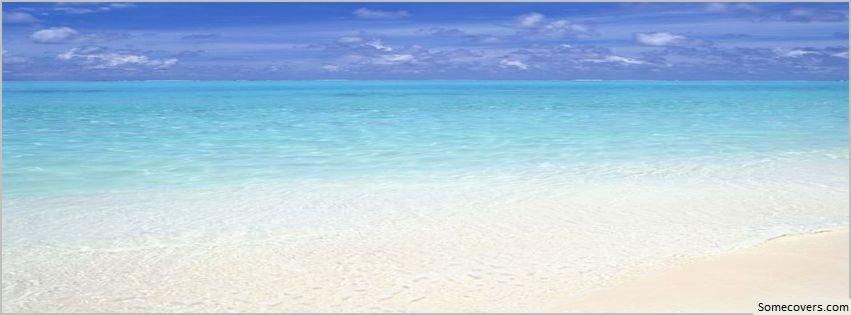 Beach Christmas Facebook Cover