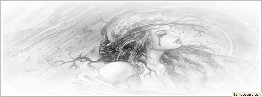 Broken heart pencil sketch facebook timeline cover downloads1 created2012 10 08