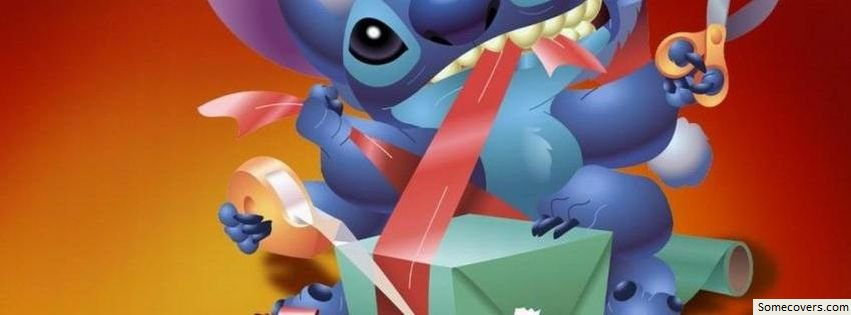Cartoon Chritmas Stitch Facebook Timeline Cover Facebook ...