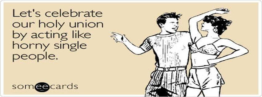 Celebrate holy union anniversary ecard someecards for