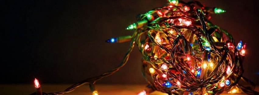 christmas lights facebook covers - photo #28