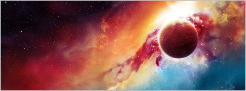 Supernova Explosion Space Facebook Covers