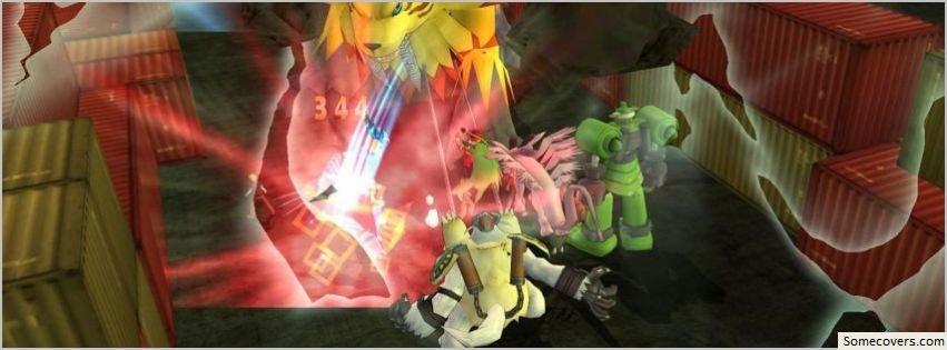 Digimon Masters Online Wallpap 2 Facebook Timeline Cover