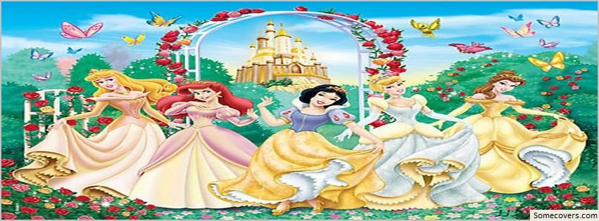 Disney Princess Cartoon Image Facebook Timeline Cover ...