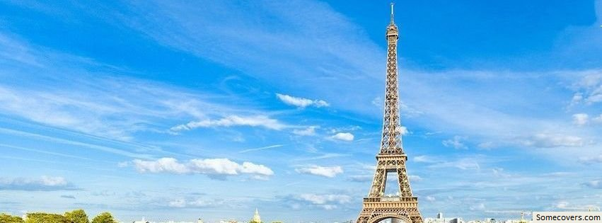 Eiffel Tower Facebook Cover18 Facebook Covers - myFBCovers