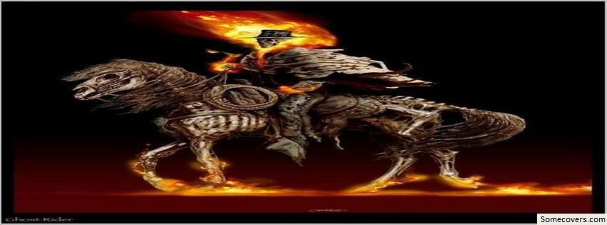 Ghost Rider Fire Horse Facebook Timeline Cover Facebook ...