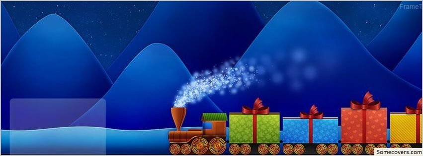 Gift Train Facebook Cover Facebook Covers - myFBCovers