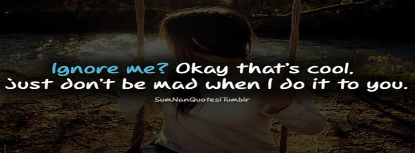 Girl With Attitude Quotes Impressive Love Facebook Covers  Myfbcovers