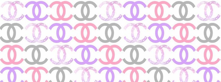 Glitter Chanel Girly Facebook Cover Facebook Covers - myFBCovers