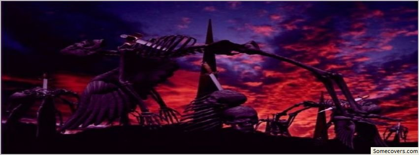 Dark Fantasy Facebook Covers: Grave Angel Dark Fantasy Facebook Timeline Cover Facebook