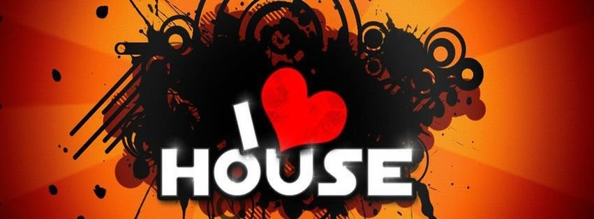 I love house music facebook cover the for House music cover