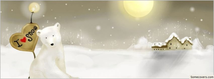 I Love Snow Facebook Timeline Cover Facebook Covers ...